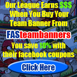 Save 10% and Earn Money for Our League