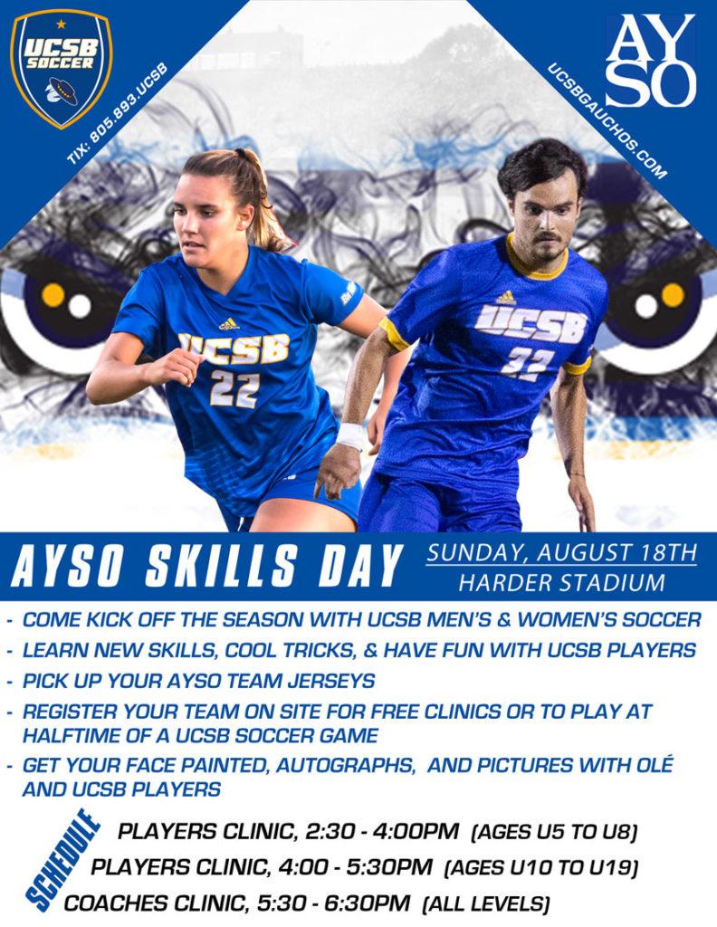 AYSO UCSB SKills Day 2019