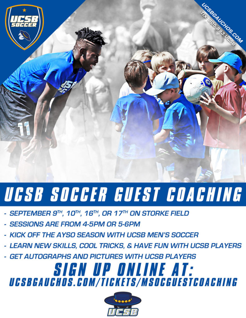 UCSB Guest Coaching