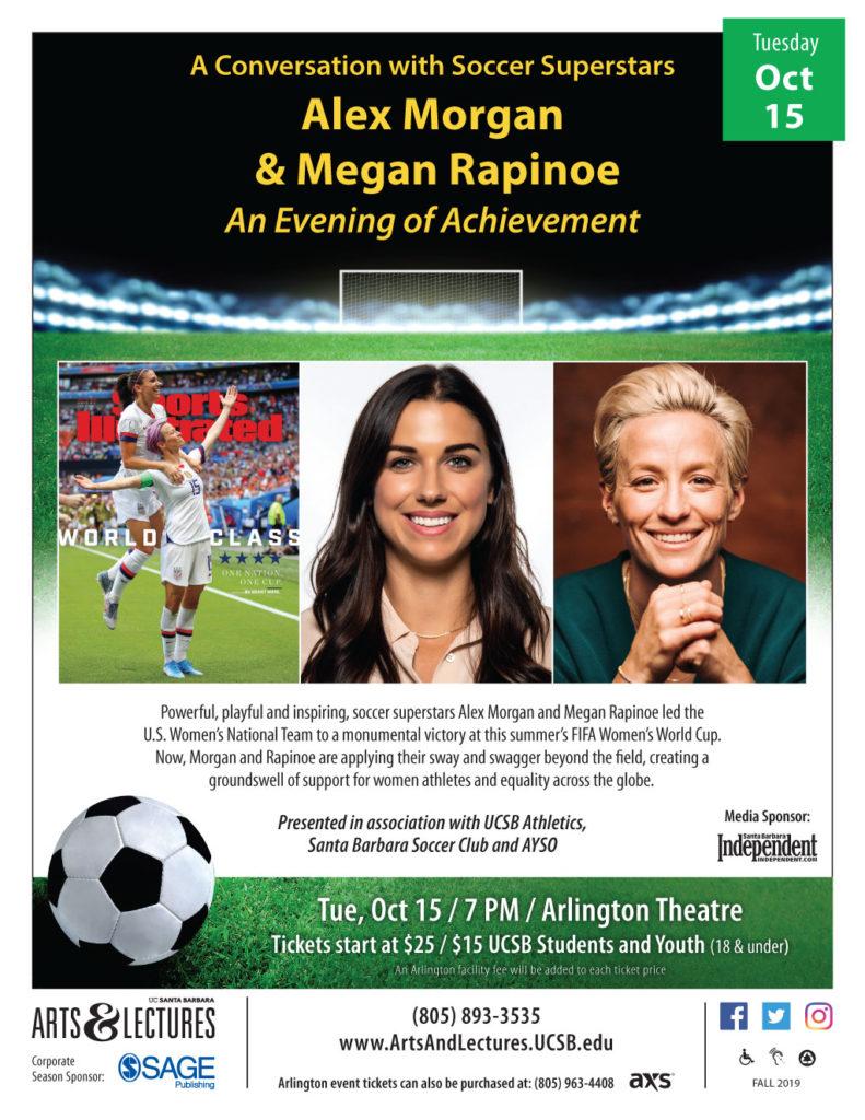 Alex Morgan + Megan Rapinoe