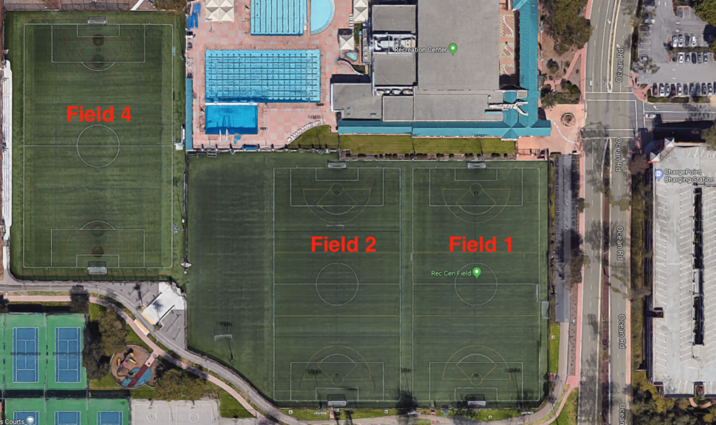 UCSB RecCenter Fields