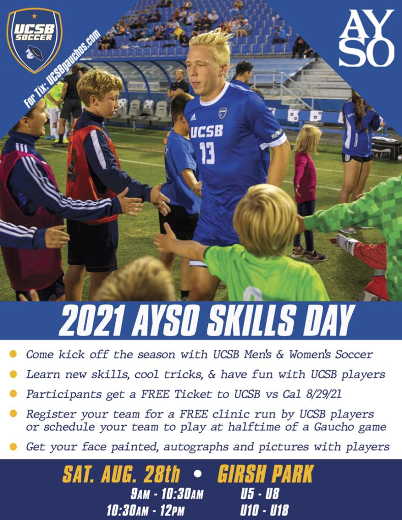 UCSB AYSO Skills Day