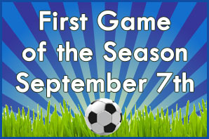 First AYSO game of the Season September 7, 2019